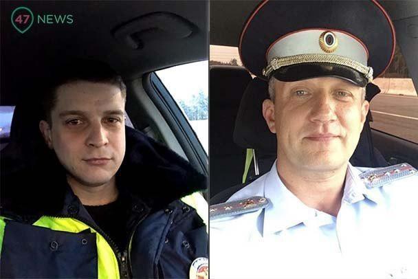 """Стало известно, кто из ГИБДД на скорости под 200 спас трехлетнего мальчика на """"Скандинавии"""". Это напарники Рома и Женя"""