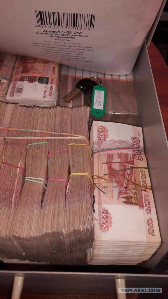 ФСБ нашла у арестованного главы Северо-Западного Ростехнадзора ещё 700 миллионов рублей
