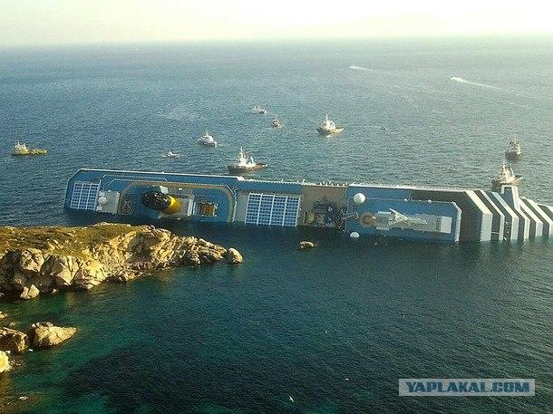 Катастрофа круизного лайнера «Коста Конкордия»