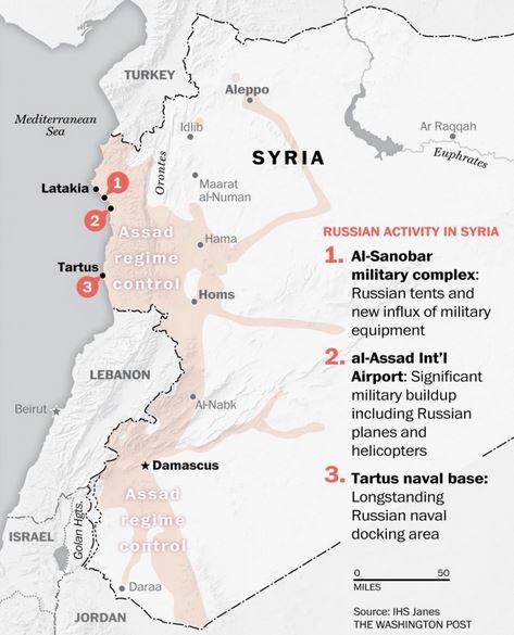 """НАТО: Россия создаёт над Сирией """"пузырь"""" ПВО"""