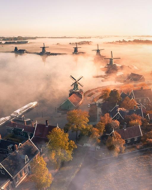 Невероятные пейзажи, сделанные с помощью дронов