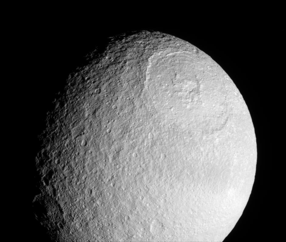 Tethys moon  YouTube