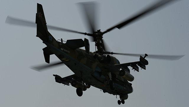 Российский вертолет Ка-52 разбился в Сирии, летчики погибли - Минобороны РФ