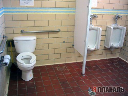 В женском туалете фото