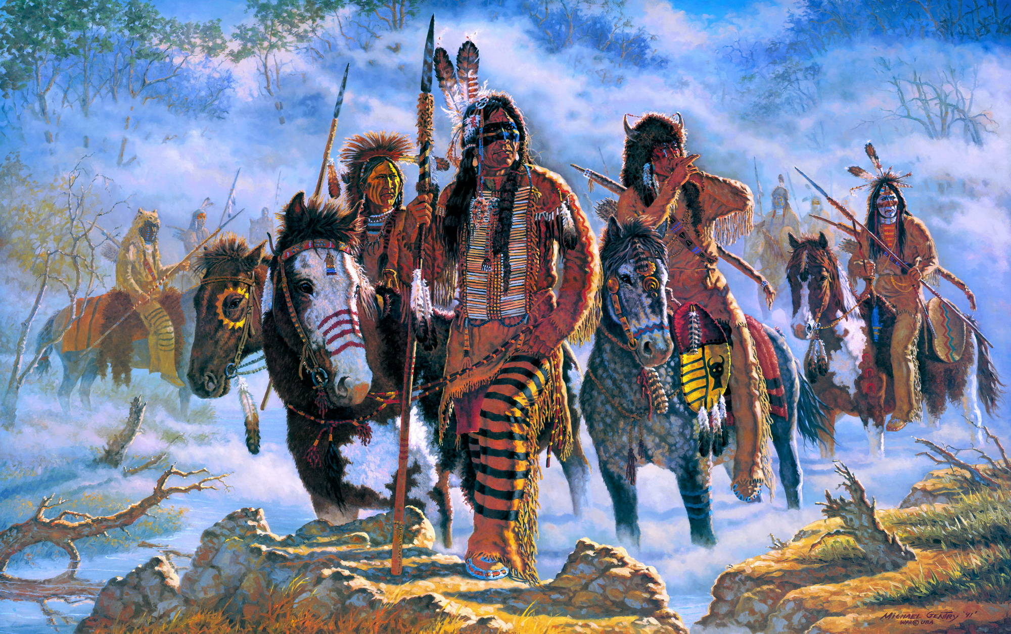 account of the conflict between the us army and the native americans oglala sioux