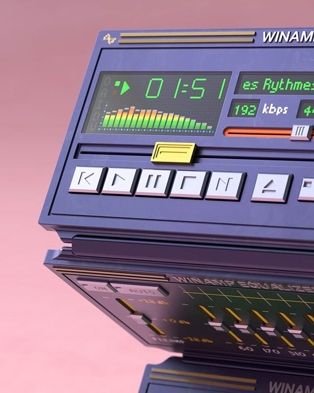 Портативный плеер Winamp - я хочу, чтобы он был реальностью!
