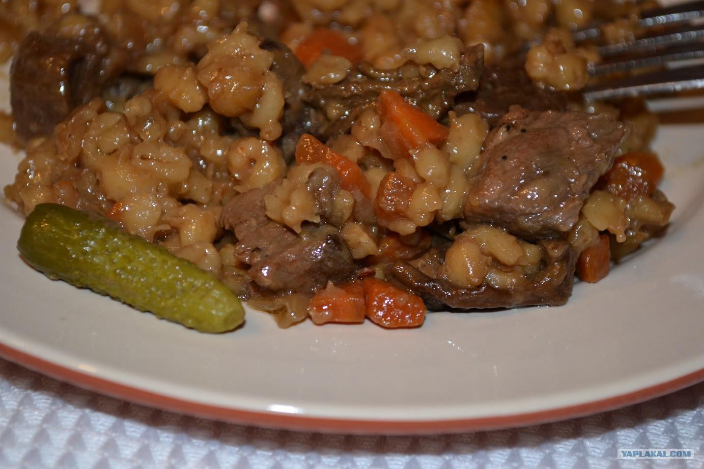 перловка с мясом рецепты с фото