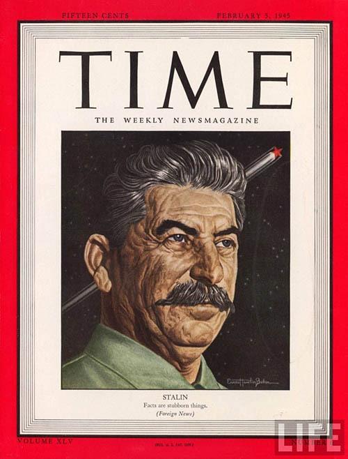 Обложки Time. Советское руководство времён 2-ой мировой Войны