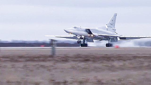 Шесть Ту-22М3, вылетевшие из России, нанесли удар по объектам ИГ в Сирии