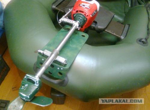 Самодельные двигатель для лодки