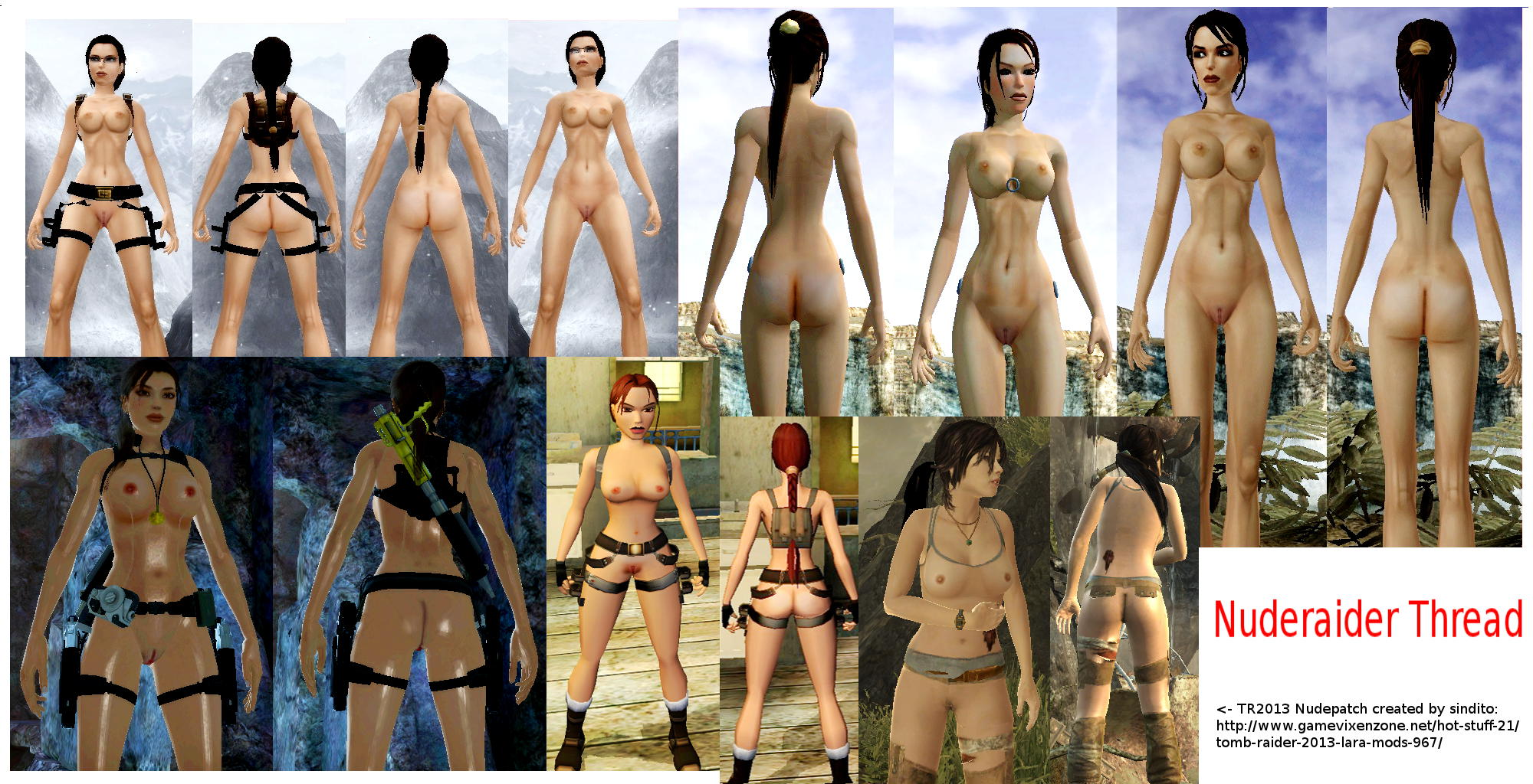 Tombraider 2013 nude patch exposed toons