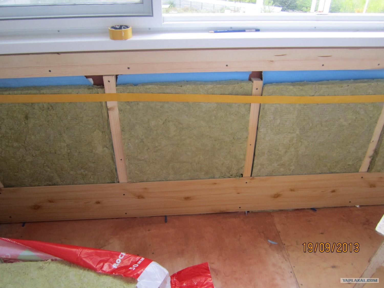 Как правильно утеплить лоджию изнутри - всё о балконе.
