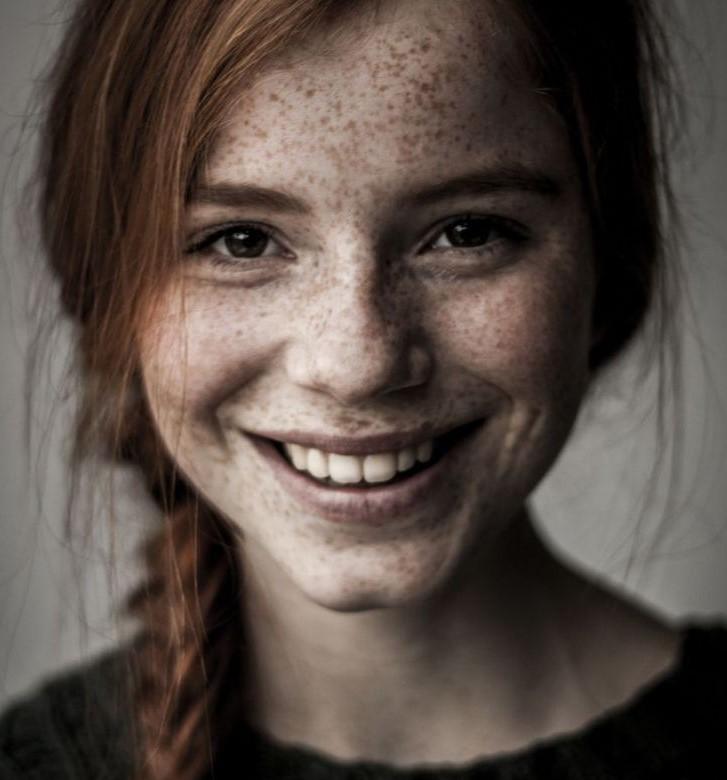 Фото рыжие девушки с веснушками