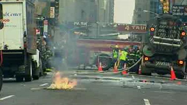 Подземные взрывы в Нью-Йорке!