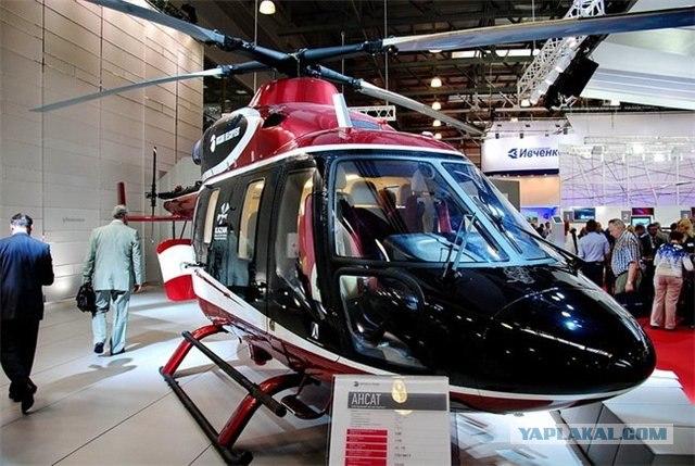 Российский вертолет, покоривший бразильцев