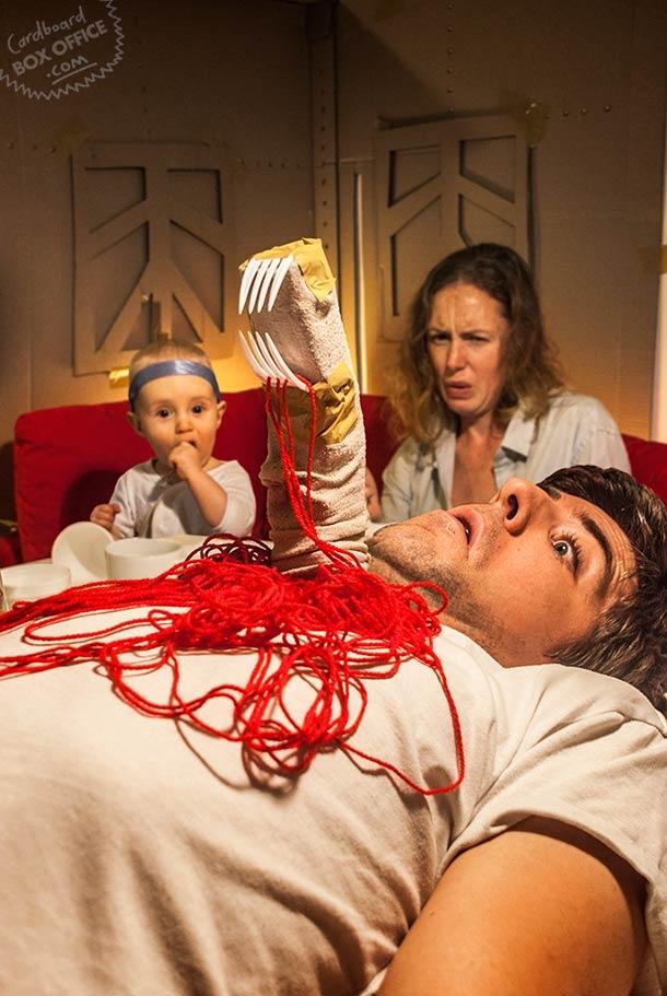 Смешные пародии творческих родителей