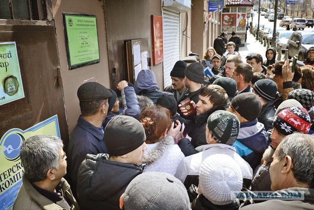 Мигранты уезжают из России. З/п теперь маленькие