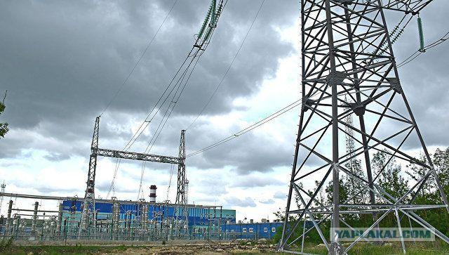 Крым начал поставки электроэнергии в Краснодарский край России