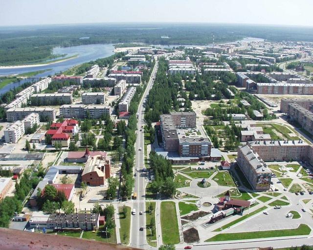 Урай. Маленький город в Сибири.