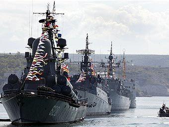 Россия выводит флот с территории Украины в РФ