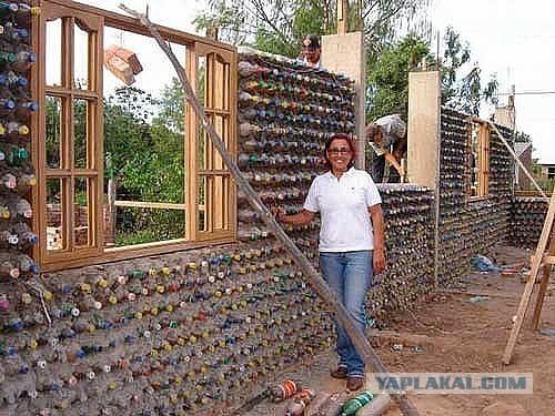 Сделай сам своими руками из пластиковых бутылок дом