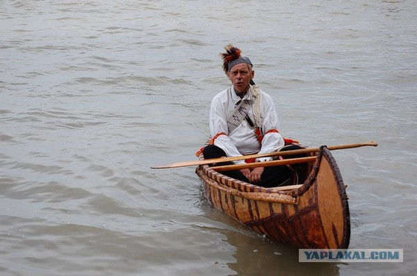 лодка дикарей
