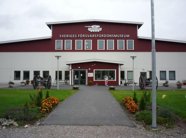 Шведский Танковый Музей