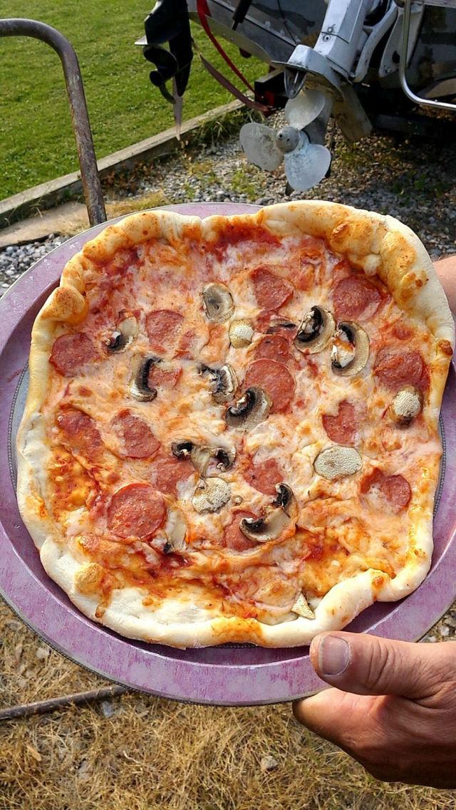 Печь для пиццы из старого баллона своими руками