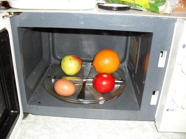 Яйцо и микроволновка - миф или реальность?