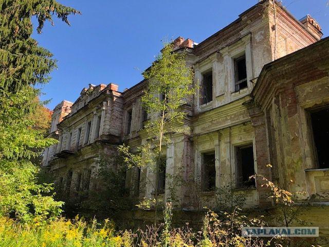 Степановское-Павлищево - погибающая красота