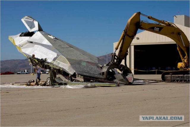Уничтожение F117