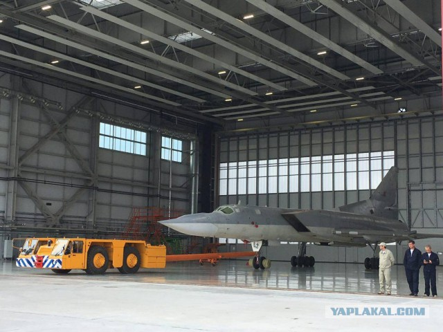Новый бомбардировщик Ту-22М3М представлен в Казани. Фоторепортаж