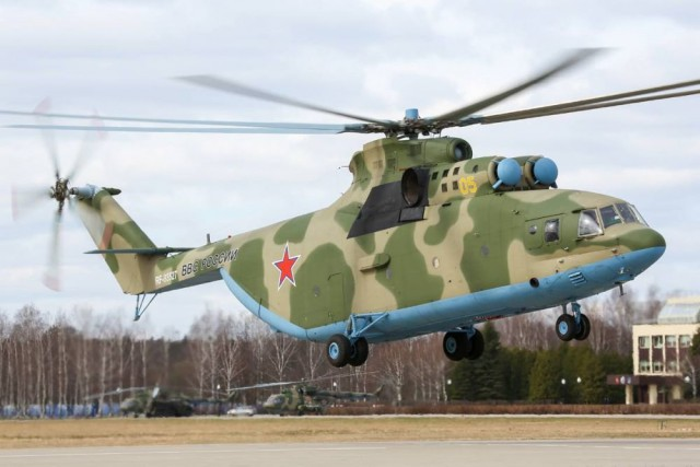 В Ростове создадут замену сверхмощному вертолету Ми-26