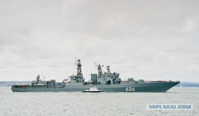 МО РФ: Российский корабль спас экипаж украинского судна в Средиземном море