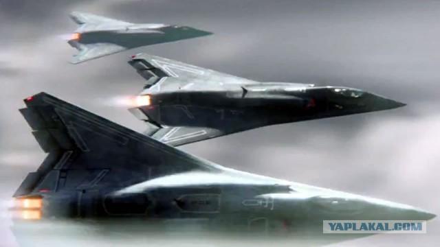 Пентагон решил припугнуть Россию самолётом 6-го поколения
