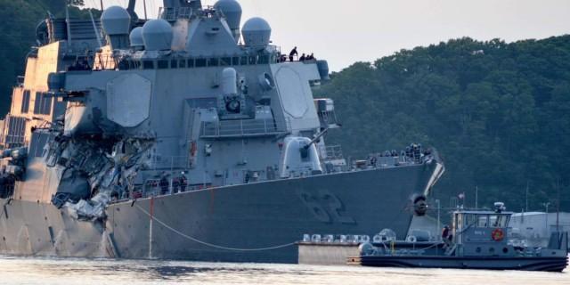 Плавучий бардак: почему эсминец «Фицджеральд» столкнулся с контейнеровозом?