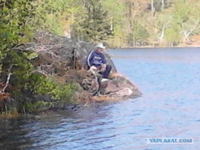 рыбалка в нечаянном видео