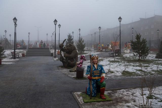 """Детский парк, в котором нельзя играть детям или """"Хочу извиниться перед администрацией Мурманска..."""""""