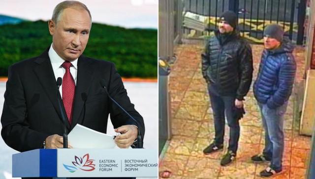 Подозреваемый по делу Скрипалей откликнулся на просьбу Путина