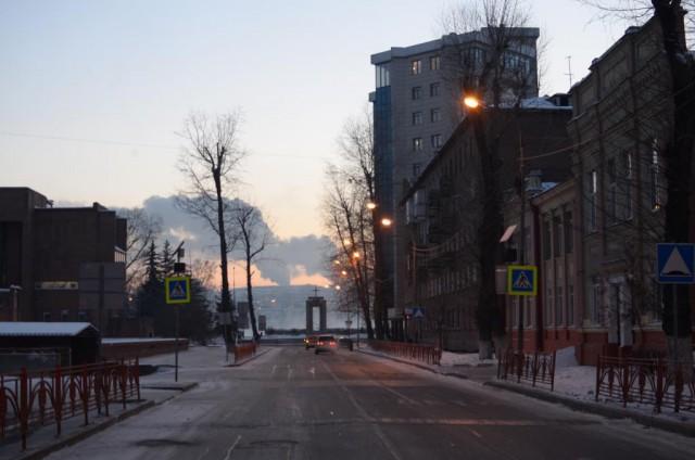 Прогулка по зимнему солнечному Иркутску