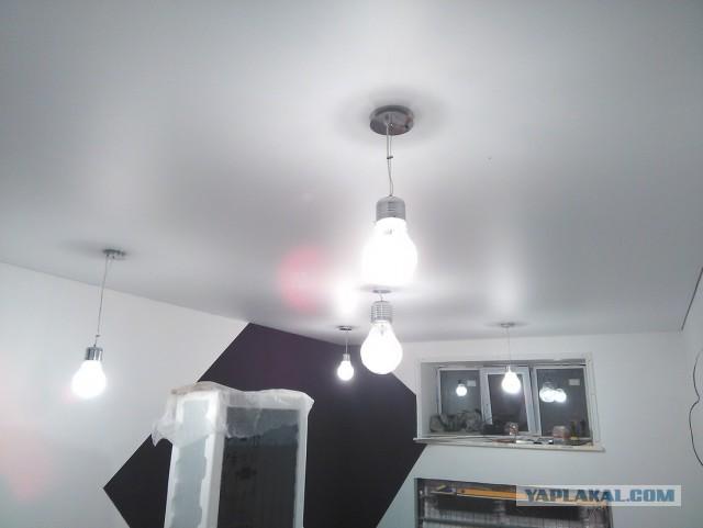 Как я мастерил управление светильниками