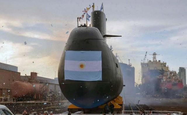 В Аргентине пропала военная подлодка с экипажем из 44 человек