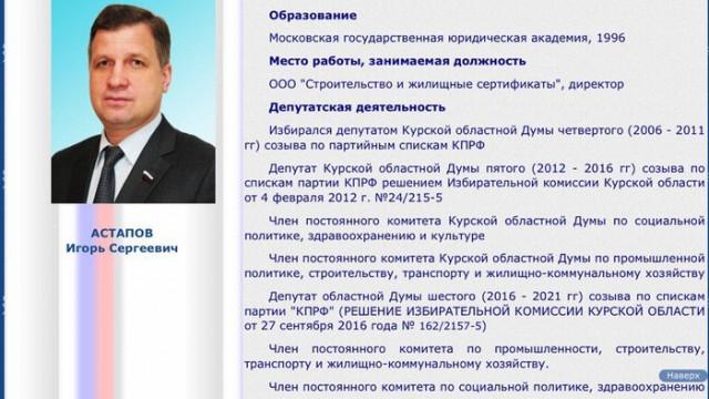 Прокуратура обнаружила у депутата Курской облдумы 27 незадекларированных квартир