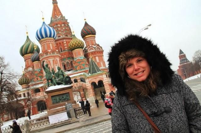 Путешествие в Россию