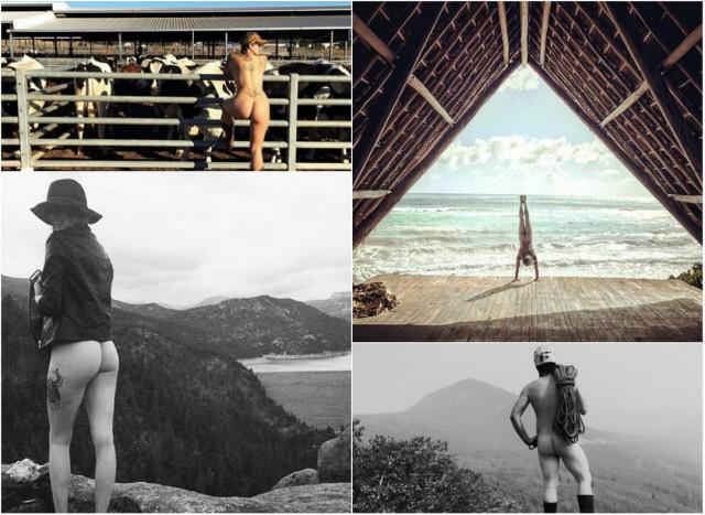 Голозадые путешественники продолжают будоражить Instagram