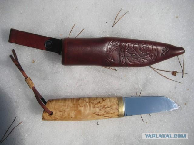 """Продам нож """"Осенний лист"""""""