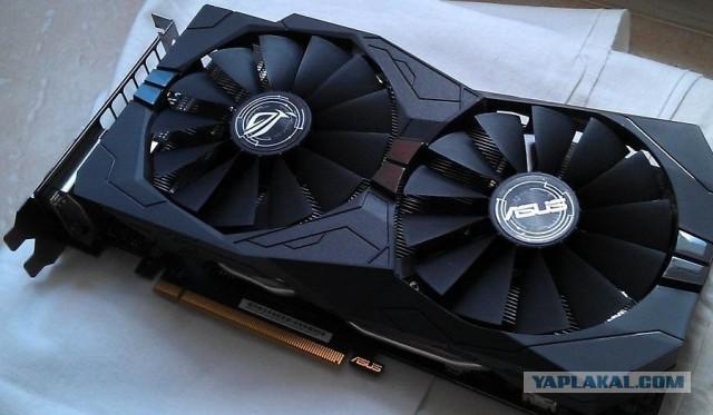 Продажа видеокарты Asus GTX1050ti Strix Gaming
