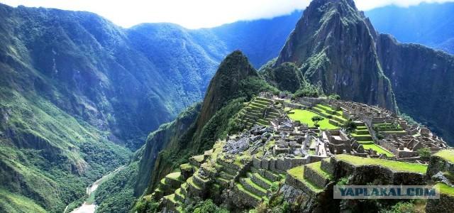 Первый снимок Мачу-Пикчу, еще заросшего джунглями