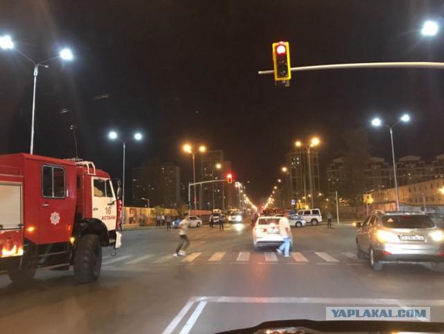 В Астане перекрыты несколько улиц