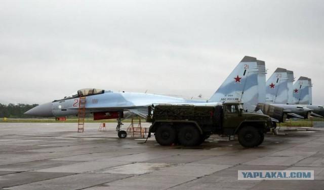 Су-35 ВКС РФ размещены на Итурупе. Япония протестует.